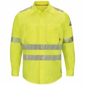 QS40HV Endurance Hi-Vis Work Shirt