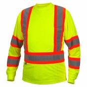 RCLTS3110 HI VIS LONG SLEEVE T-SHIRT