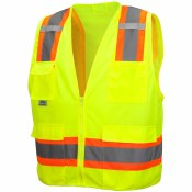 RVZ2410 HI VIS SAFETY VEST