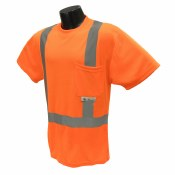 ST11 Class 2 Hi-Viz Safety T-Shirt with Max-Dri