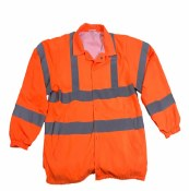 BSWB Hi-Vis Light Weight Fleece Lined Jacket