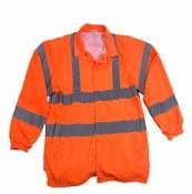 BSWB Hi-Vis Light Weight Fleece Lined Jacket