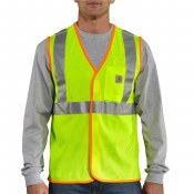 100501 Brite Lime M High-Visibility Class 2 Vest
