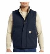 101029 Flame Resistant Sherpa Mock Vest