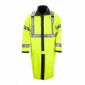 48125 High Visibility Reversible Rain Coat