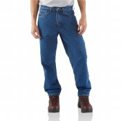 B17 Relaxed Fit Tapered-Leg Jean