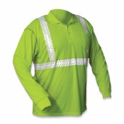 C2NFPOLO Class 2 High-Visibility Long Sleeve Polo