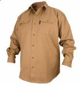 FS7-KHK Flame Resistant Cotton Work Shirt