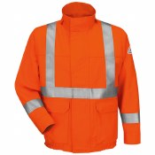JLJSOR Flame Resistant Jacket with CSA Reflective Trim