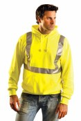 Occunomix high visibility vests and other safety clothing.