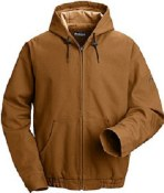 JLH4 Flame Resistant Excel Comfortouch Duck Hooded Jacket