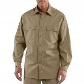 S224 Twill Long-Sleeve Work Shirt
