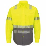 SLB4 Hi-Visibility FR Block Uniform Shirt