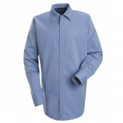 SLS2 Flame Resistant Concealed Gripper Pocketless Shirt