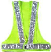 VST-1004-0UG  Hi-Vis Flashing LED Safety Vest