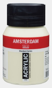 Amsterdam Acrylic 500ml Naples Yellow Green