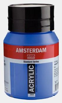 Amsterdam Acrylic 500ml Cobalt Blue (Ultramarine)