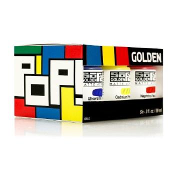 Golden SoFlat Pop Set