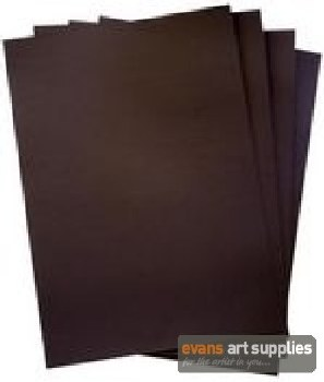A2 Black Card 160gsm 20s