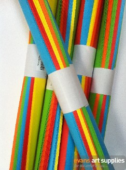 A3 Coloured Paper Roll 24s