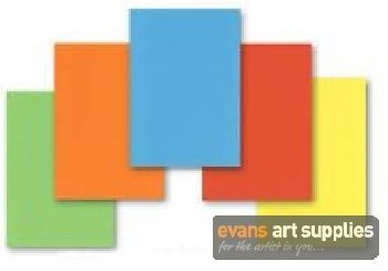 A2 Coloured Card 160gsm 25s