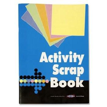 A4 32 SHEET ACTIVITY SCRAPBOOK