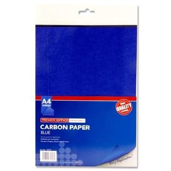 A4 Carbon Paper - Blue