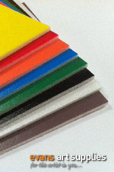A4 Coloured Foamboard 8s