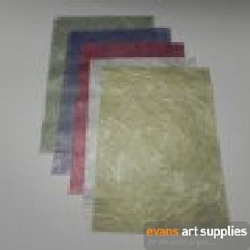 A4 Metallic Fabric Paper 10s