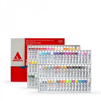 Acryla Gouache 102 Colour Set