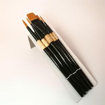 Acrylic Brush Set 5pc Golden
