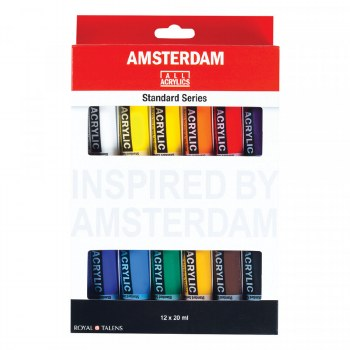 Amsterdam Acrylic Set 12x20ml