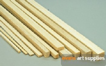 Balsa Strip 1.6x1.6x915mm **Minimum Purchase of 10**