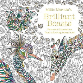 Brilliant Beasts Colouring Boo