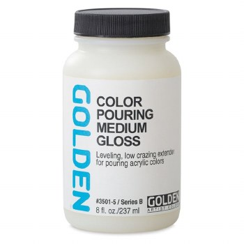 Golden Color Pouring Medium Gloss 237ml