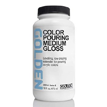 Golden Color Pouring Medium Gloss 473ml