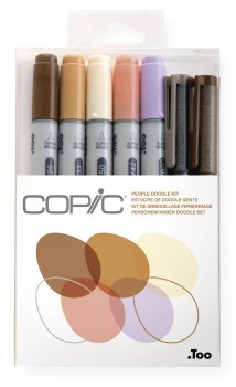 Copic Ciao Doodle Kit Nature