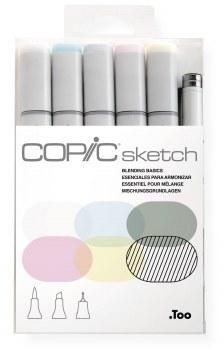 Copic Sketch 6pc Set Blending Basics