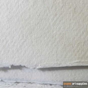 Khadi Cotton Rag 56x76cm 320gsm Rough (Min 3 Sheets)