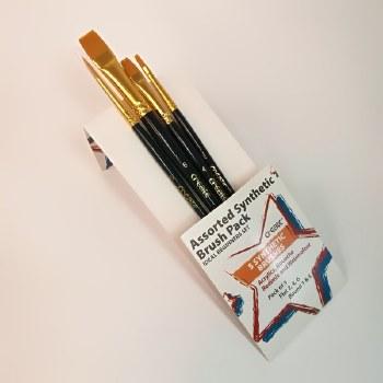 Create 5 Brush Synthetic Set