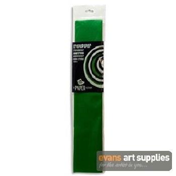 Crepe Paper Dark Green