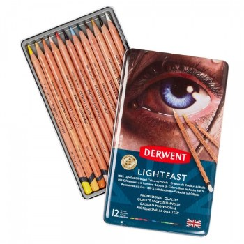 Derwent Lightfast Pencil set of 12