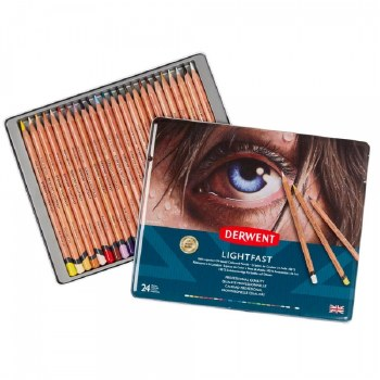 Derwent Lightfast Pencil set of 24