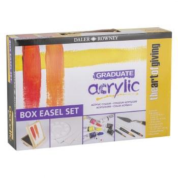 Daler Rowney Graduate Acrylic Easel Set