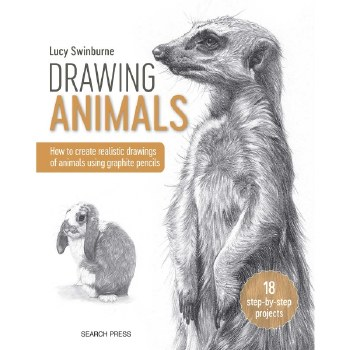 Drawing Animals - How to create realistic drawings of animals using graphite pencils