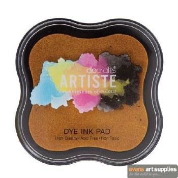 Dye Ink Pad Dark Yellow