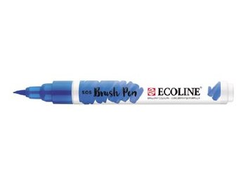 Ecoline Brush Pen Ultramari Lt