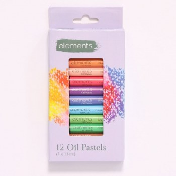 Elements Oil Pastels 12s