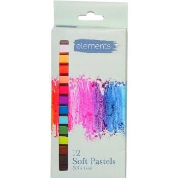 Elements Soft Pastels 12s