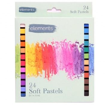 Elements Soft Pastels 24s
